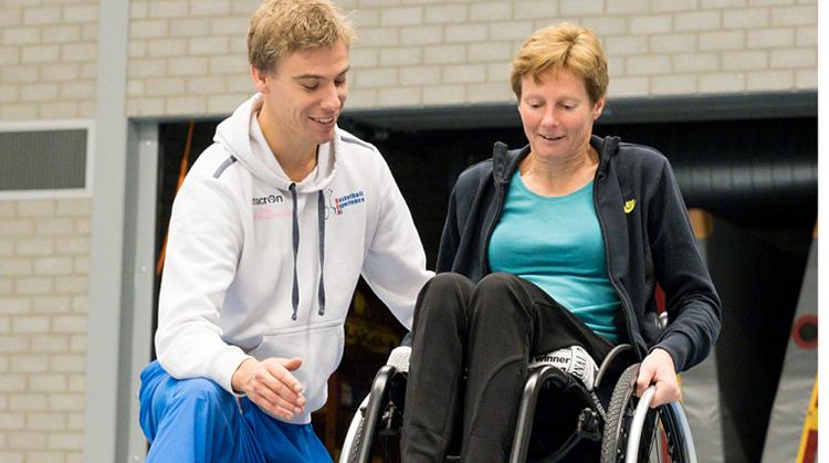 Gratis rolstoeltraining voor jong en oud afbeelding nieuwsbericht