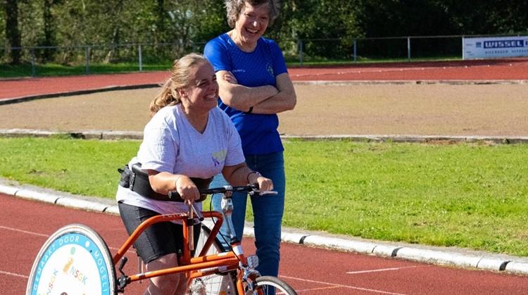 ''Als je een arm of een been kan bewegen, moet je kunnen sporten.'' zegt Cathrien Hesselink afbeelding nieuwsbericht