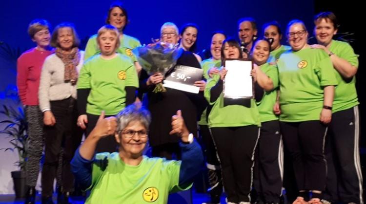 Zumba G-groep de Toppers trots tijdens Sportgala Hilvarenbeek afbeelding nieuwsbericht