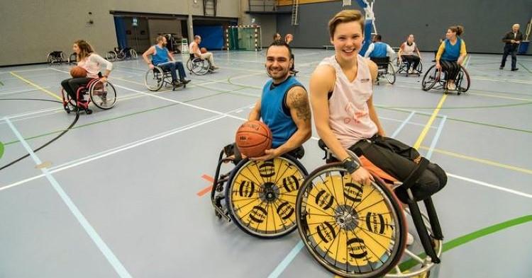 Ervaar en leer rolstoelbasketballen in Nieuwegein, start vandaag! afbeelding nieuwsbericht