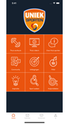 Uniek Sporten Android App screenshot 1