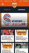 Uniek Sporten App screenshot 1