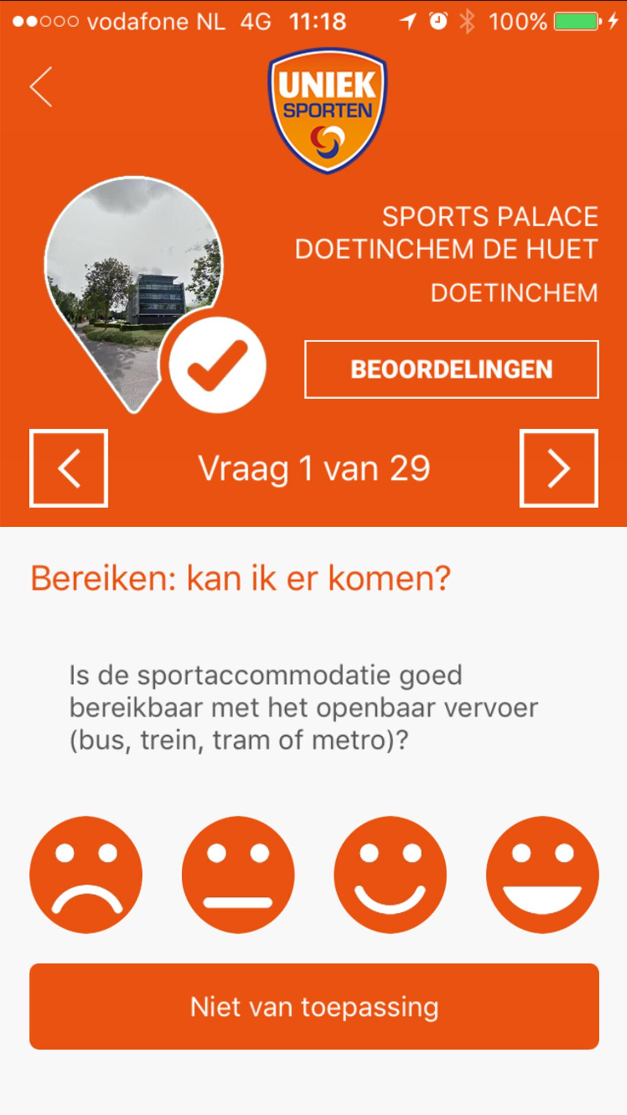 Uniek Sporten App screenshot 5
